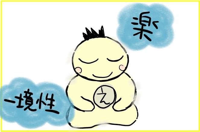 マンガ「色界四禅の瞑想」3