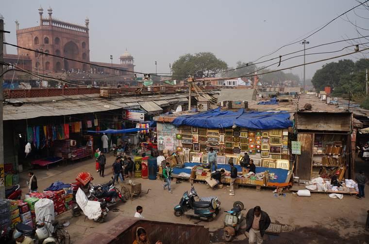 インド街並み2