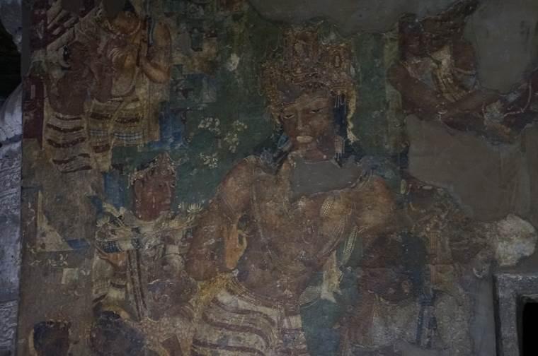 金剛手菩薩(こんごうしゅぼさつ)のvajrapani(ヴァジュラパーニ)