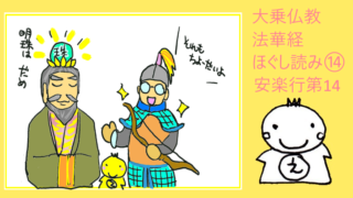 法華経 安楽行品第14
