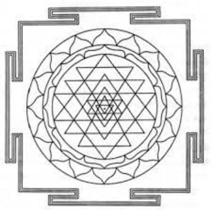 ヒンズー教 シュリーヤントラ