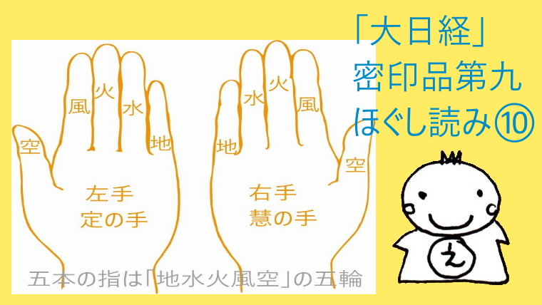 密印品第九「大日経」